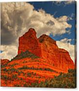 One Sedona Sunset Canvas Print