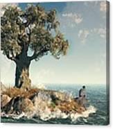 One Tree Island Canvas Print