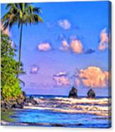 Onomeo Bay Canvas Print