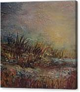 Onset Of Evening Canvas Print