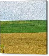 Ontario Farm In Landscape Mode Canvas Print