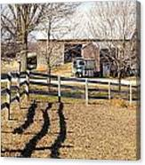 Ontario Farm Canvas Print