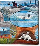Ontario Heritage Mural Canvas Print