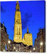 Onze-lieve-vrouwekathedraal Cathedral Canvas Print