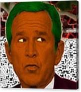 Oompaloompa Bush Canvas Print