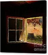 Open Cabin Window II Canvas Print