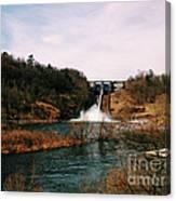 Dam At Raystown Lake Canvas Print