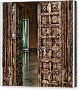 Open Door By Diana Sainz Canvas Print