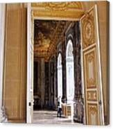 Open Doors At The Palace Of Versailles  Canvas Print