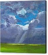 Open Field Majestic Canvas Print