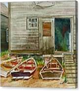 13. Yacht Club Canvas Print