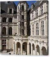 Open Staircase Chateau Chambord - France Canvas Print