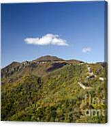Open View 2 Of The Great Wall Mutianyu Section 603 Canvas Print