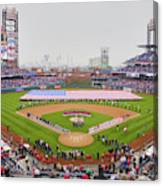 Opening Day Ceremonies Featuring Canvas Print