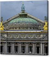 Opera Garnier Canvas Print