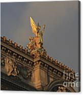 Opera Garnier In Paris France Canvas Print