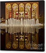 Opera House Reflections Canvas Print
