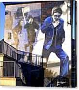 Derry Mural Operation Motorman  Canvas Print