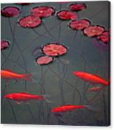 Orange Alive Canvas Print