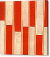 Orange Bars Canvas Print