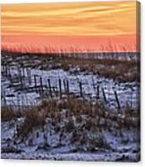 Orange Dawn Canvas Print