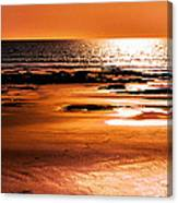 Orange Evening Canvas Print