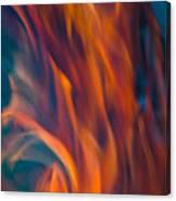 Orange Fire Canvas Print