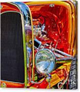 Orange Ford Canvas Print
