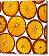 Orange Fresh Canvas Print