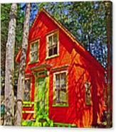 Orange In Asbury Grove In South Hamilton-massachusetts  Canvas Print
