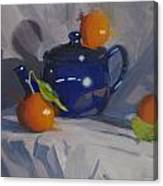 Orange Pekoe Tea Canvas Print