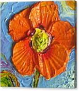 Orange Poppy II Canvas Print