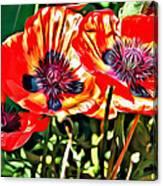 Orange Rhapsody Canvas Print