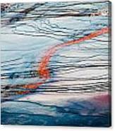 Orange Streak Canvas Print
