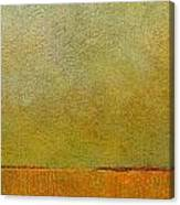 Orange With Red And Gold Canvas Print