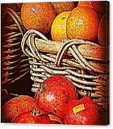 Oranges And Persimmons Canvas Print