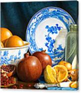 Oranges and Pomegranates Canvas Print