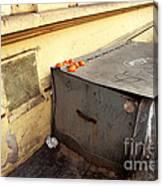 Oranges In Prague Canvas Print