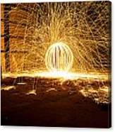 Orb Of Light Canvas Print
