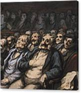 Orchestra Seat Canvas Print