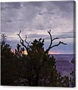 Orchestrating A Sunset At The Grand Canyon Canvas Print