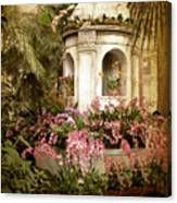Orchid Exhibition Canvas Print