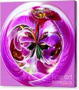 Orchid Orb I Canvas Print