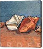 Order N The Sand Canvas Print