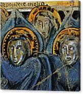 Order Of Cherubim Angels - Study No. 2 Canvas Print