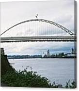 Oregon Bridge Canvas Print