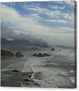 Oregon Coast Ecola 1 F Canvas Print