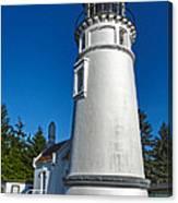 Oregon Coast - Light House Canvas Print