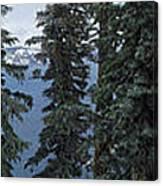 Oregon Crater Lake Panoramic Canvas Print
