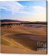 Oregon Dunes Landscape Canvas Print
